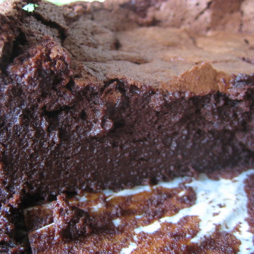 Chocolate Mousse Cake FM