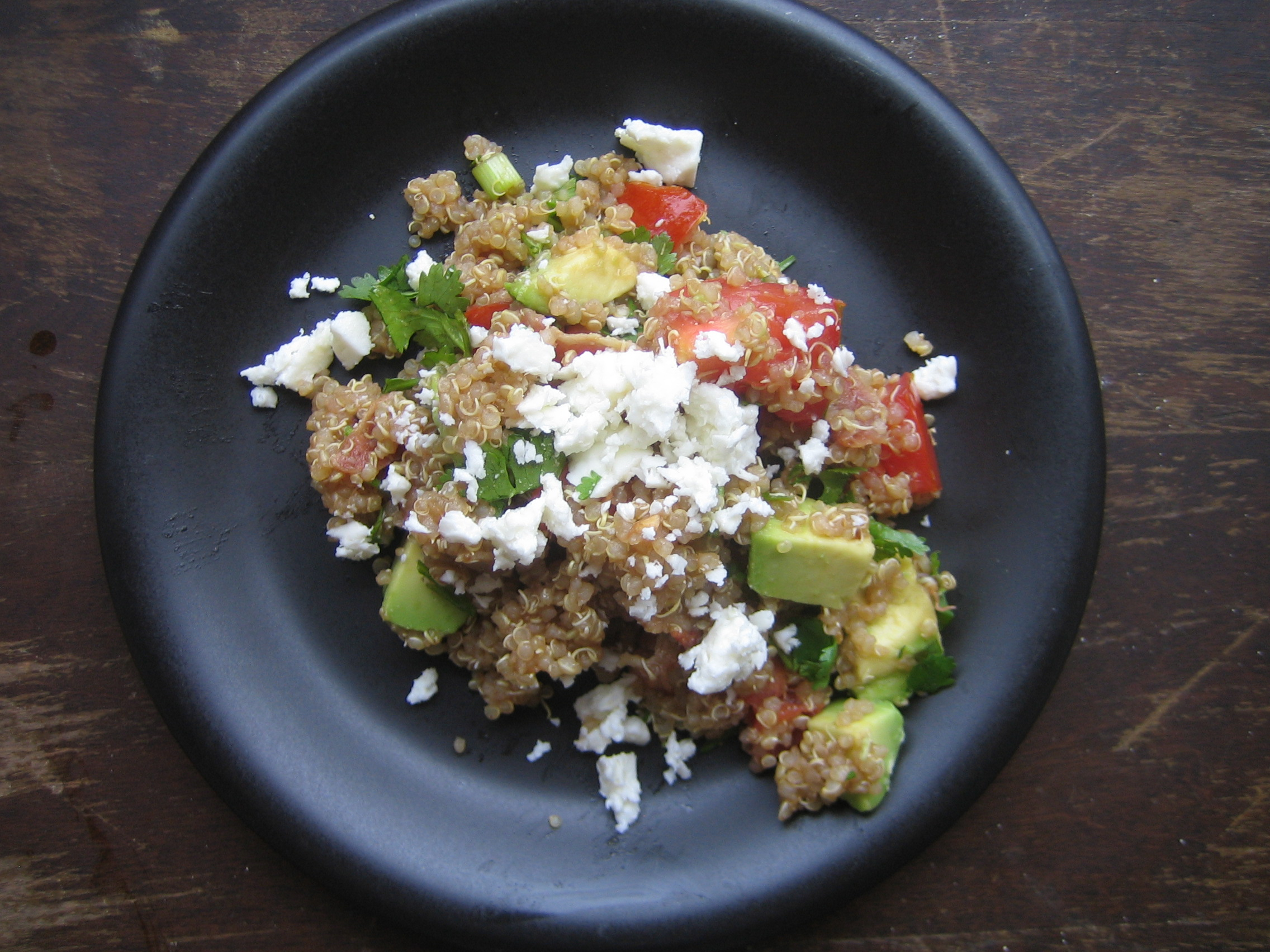 BLT Salad with Quinoa FM