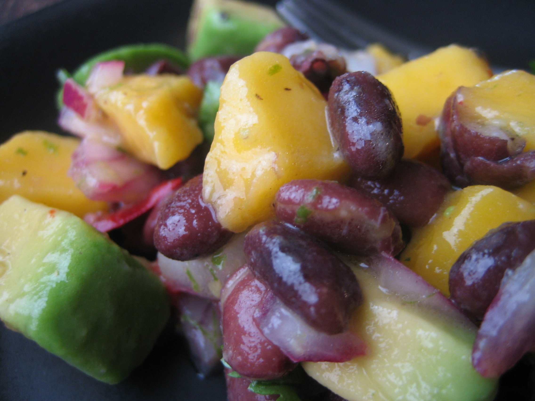 Mango Avocado and Black Bean Salad FM