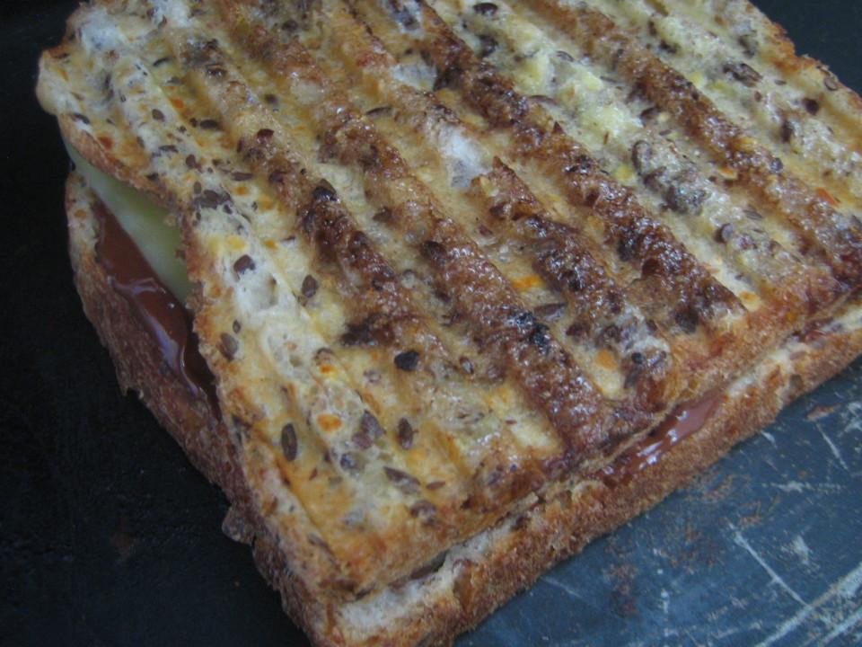 NutellaCheeseSandwich