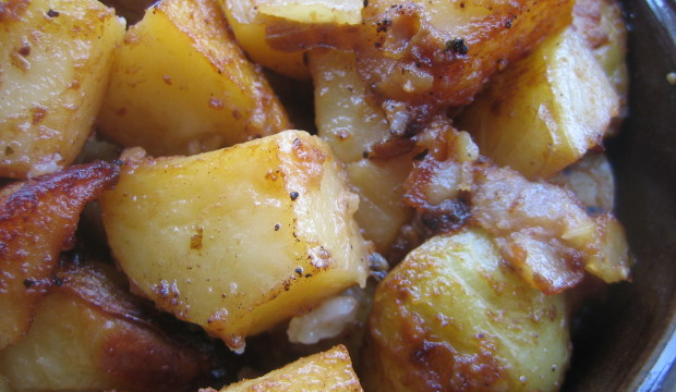 Roasted Potatoes with Kraft Pourables